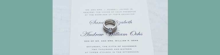 ring on invitation