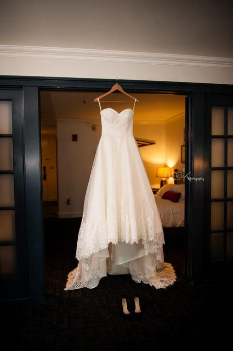 wedding dress hotel commonwealth