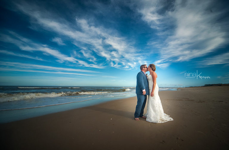 wedding photography nags head nc